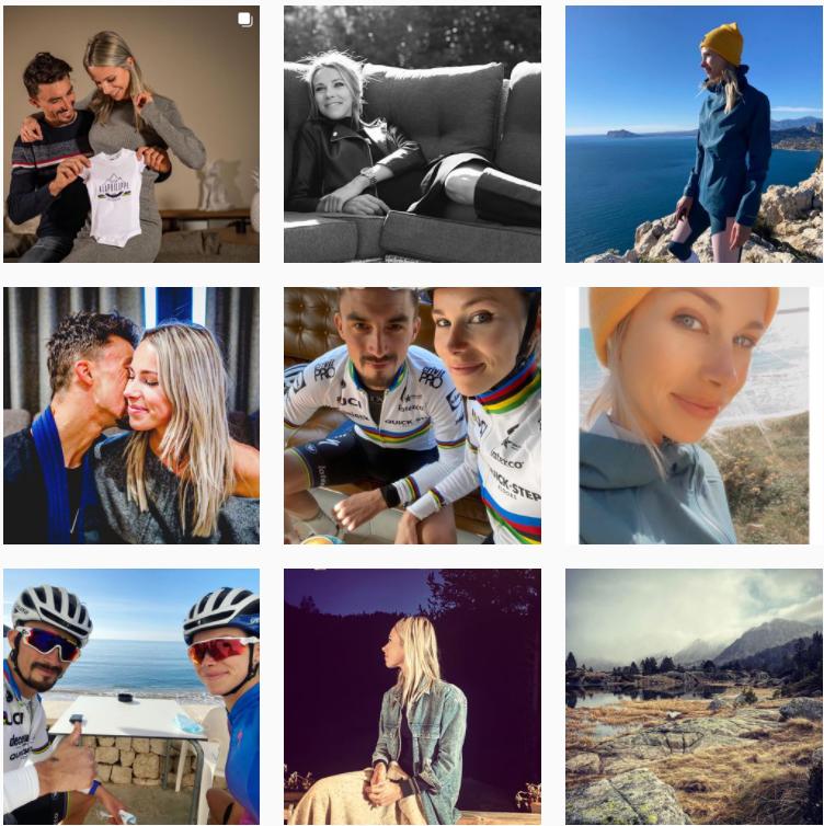 Suivre Marion Rousse compte Instagram